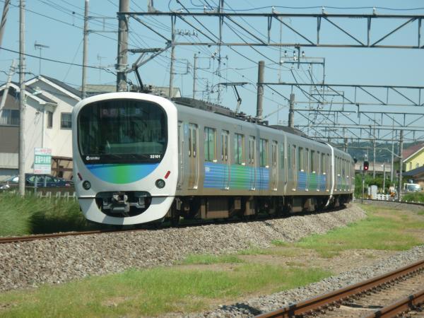 2014-08-06 西武32101F+38103F 急行池袋行き 2148レ