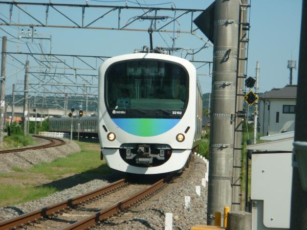 2014-08-06 西武32102F+38104F 準急池袋行き 2149レ