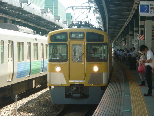 2014-08-06 西武2453F+2073F 準急飯能行き 4121レ