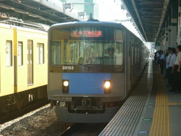 2014-08-06 西武20153F 各停石神井公園行き 5609レ