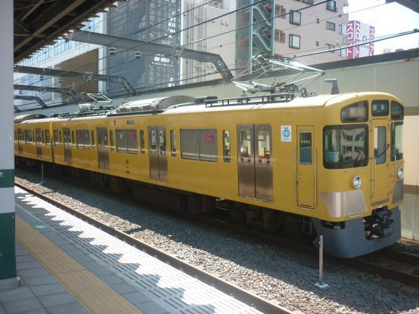 2014-08-06 西武2461F+2097F 急行飯能行き 2123レ
