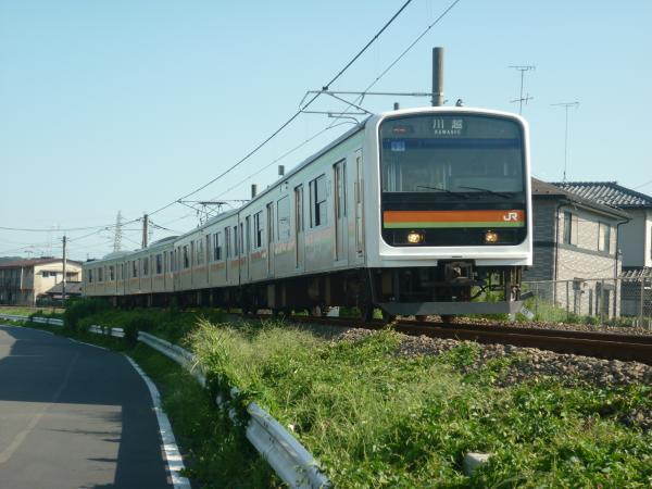 2014-08-06 八高線209系ハエ63編成 川越行き