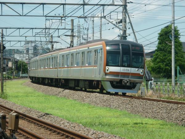 2014-08-11 メトロ10106F 快速急行元町・中華街行き 1704レ