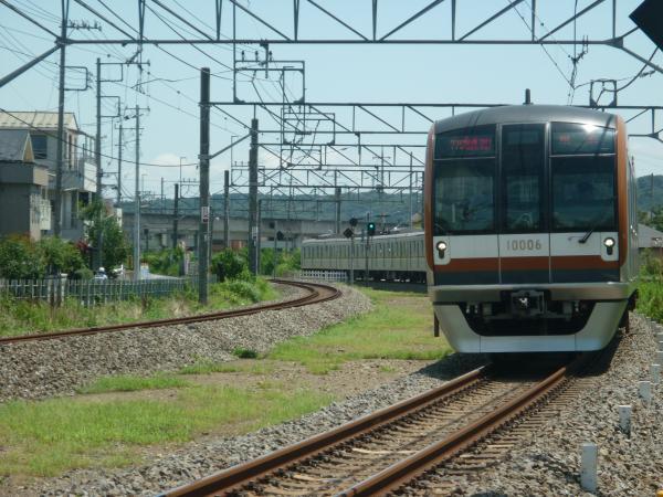 2014-08-11 メトロ10106F 快速急行飯能行き 1701レ