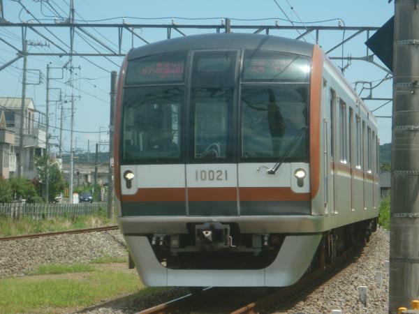 2014-08-11 メトロ10121F 快速急行飯能行き 1703レ