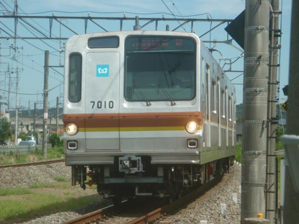 2014-08-11 メトロ7110F 快速急行飯能行き 1705レ