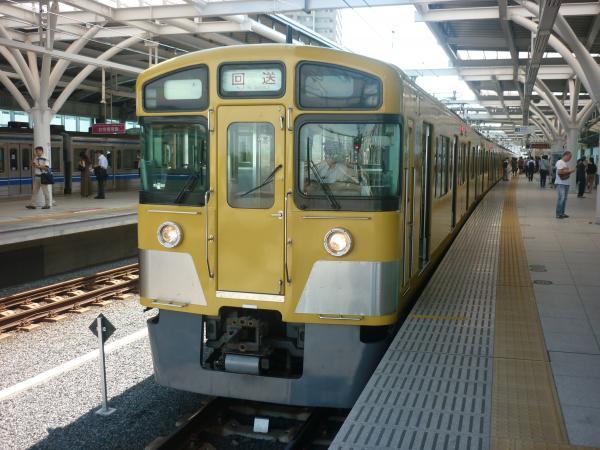 2014-08-11 西武2063F 回送1 9405レ