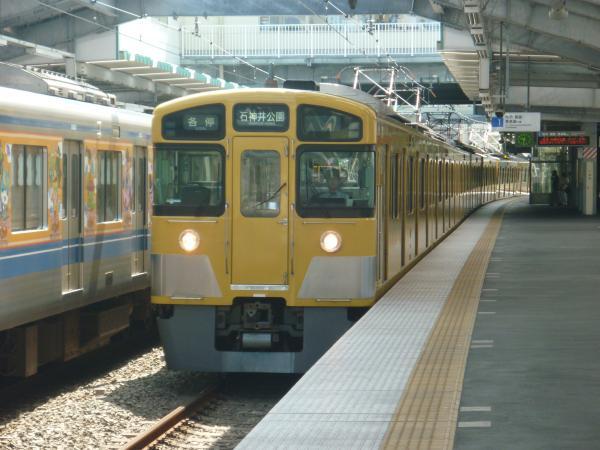 2014-08-11 西武2063F 各停石神井公園行き 5609レ