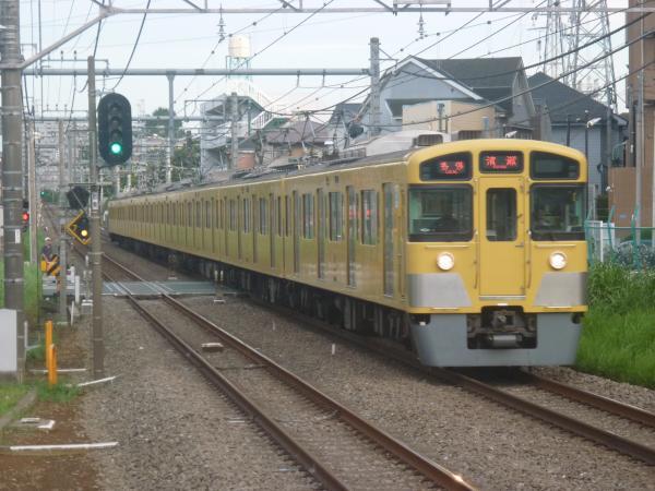 2014-08-11 西武2097F 各停清瀬行き1 5855レ