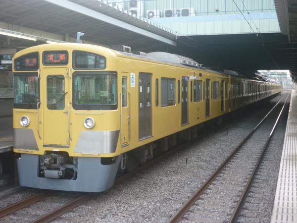 2014-08-11 西武2097F 各停清瀬行き2 5855レ