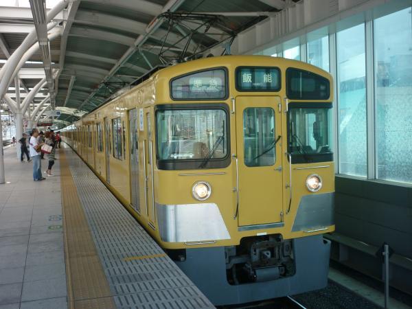 2014-08-11 西武2453F+2083F 準急飯能行き 4121レ