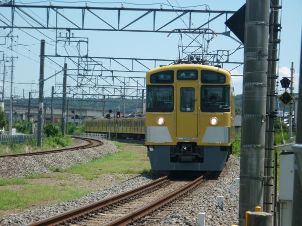 2014-08-11 西武2459F+2087F 準急池袋行き 2131レ
