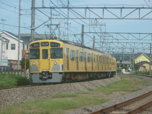 2014-08-11 西武2461F+2091F 急行池袋行き 2154レ