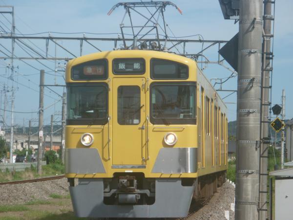 2014-08-11 西武2461F+2091F 急行飯能行き 2147レ