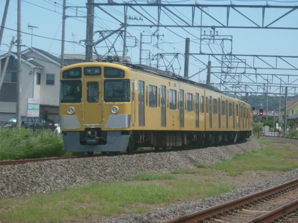2014-08-11 西武2461F+2091F 準急池袋行き 4112レ