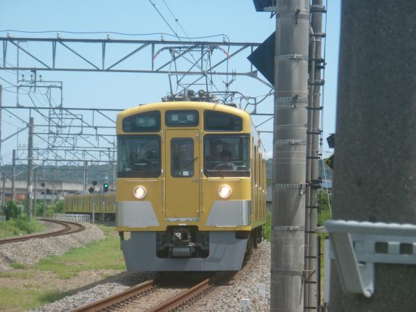 2014-08-11 西武2461F+2091F 準急飯能行き 4129レ