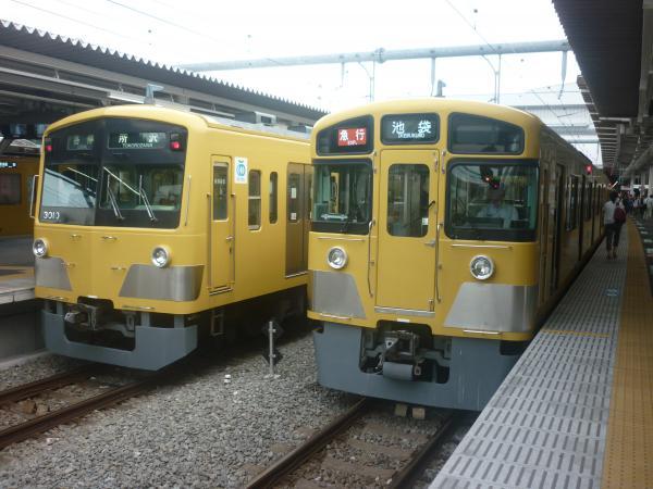 2014-08-11 西武3009F 2453F+2083F