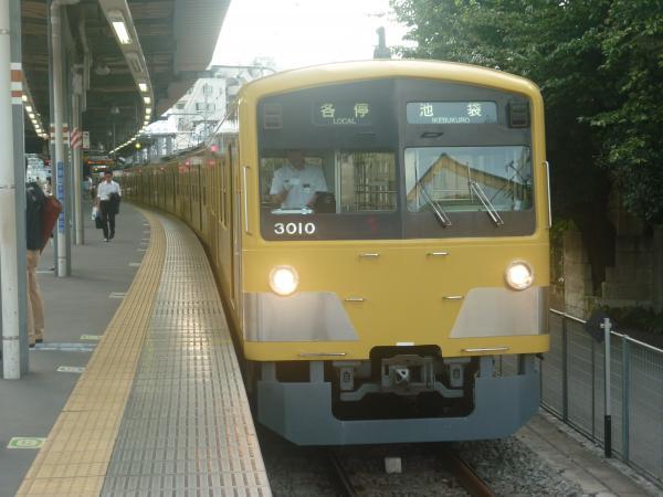 2014-08-11 西武3009F 各停池袋行き 5862レ