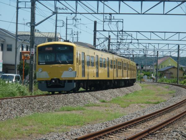 2014-08-11 西武3009F 急行池袋行き 2136レ