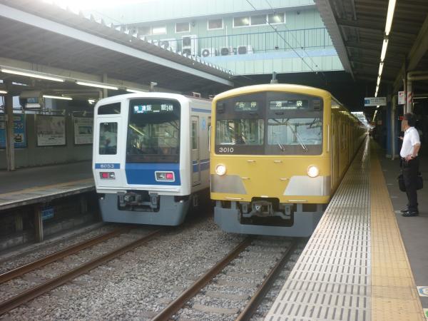 2014-08-11 西武6153F 3009F