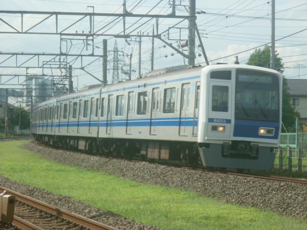 2014-08-11 西武6153F 快速急行元町・中華街行き 1710レ