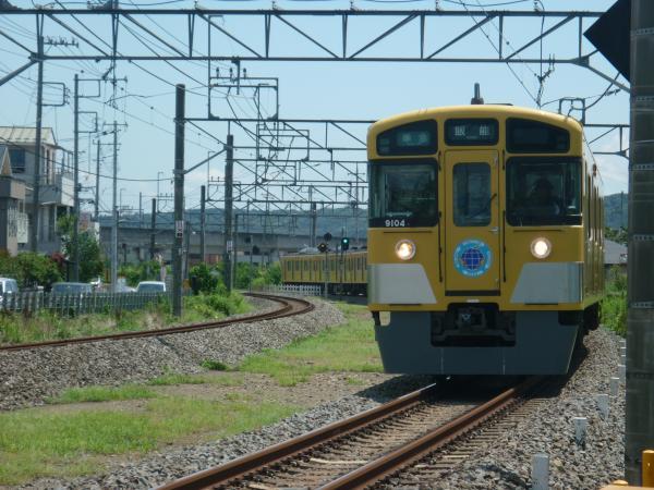 2014-08-11 西武9104F 準急飯能行き 4123レ