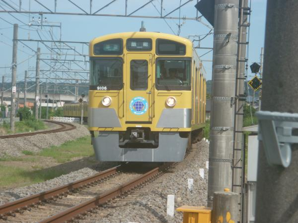2014-08-11 西武9106F 準急飯能行き 4137レ