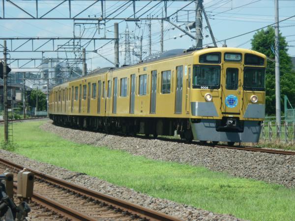 2014-08-11 西武9108F 回送