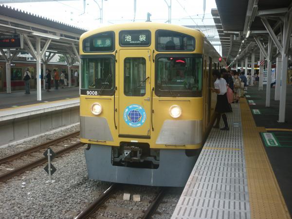 2014-08-11 西武9108F 準急池袋行き 4218レ