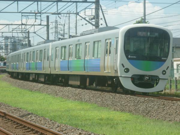 2014-08-11 西武30101F 急行池袋行き 2146レ