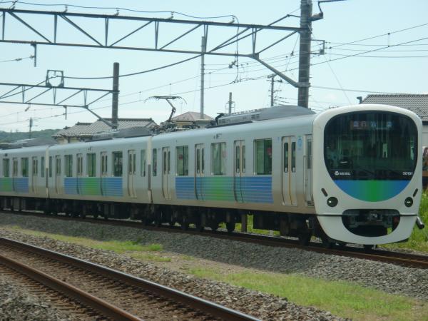 2014-08-11 西武30101F 急行飯能行き 2127レ