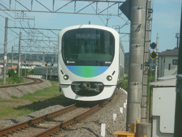 2014-08-11 西武30101F 急行飯能行き 2151レ