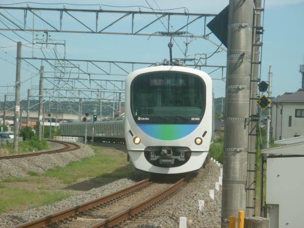 2014-08-11 西武32103F+38105F 急行飯能行き 2145レ