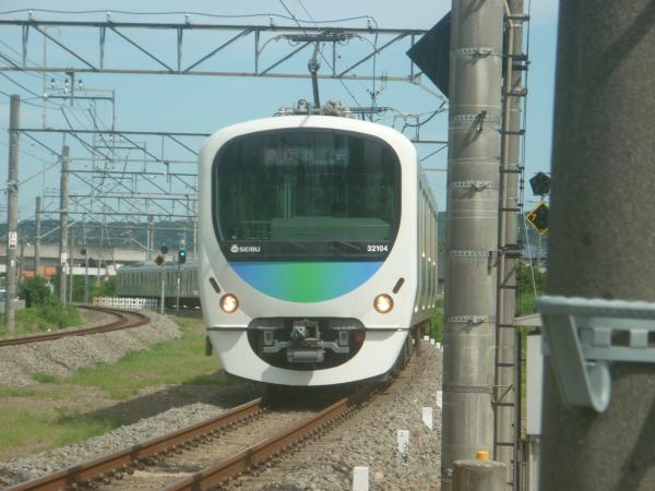 2014-08-11 西武32104F+38112F 急行池袋行き 4135レ