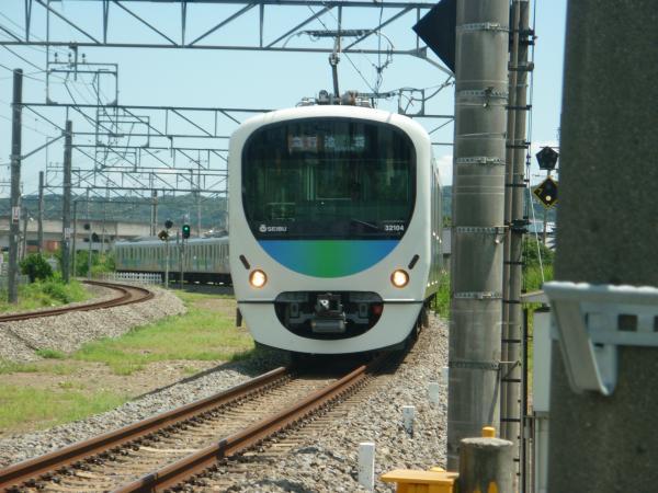 2014-08-11 西武32104F+38112F 急行飯能行き 2133レ