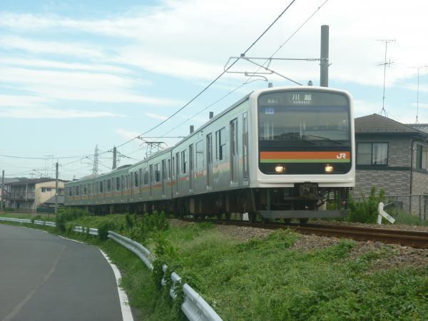 2014-08-11 八高線209系ハエ64編成 川越行き