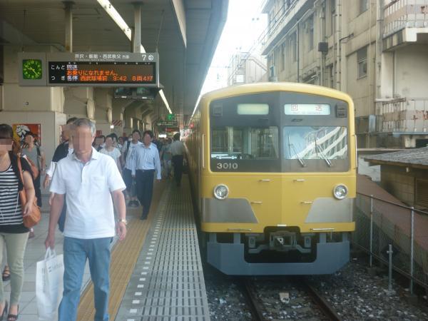 2014-08-13 西武3009F 回送