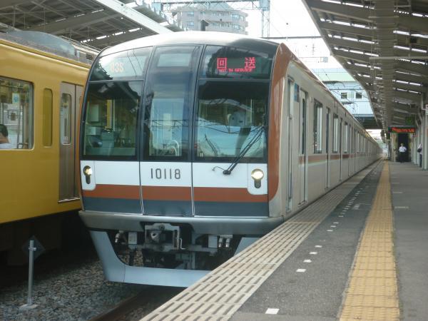 2014-08-18 メトロ10118F 回送
