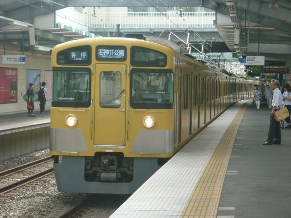 2014-08-18 西武2089F 各停石神井公園行き 5607レ