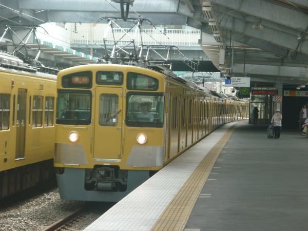 2014-08-18 西武2453F+2079F 急行飯能行き 2119レ
