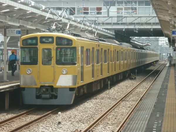 2014-08-18 西武2453F+2079F 準急池袋行き 4102レ