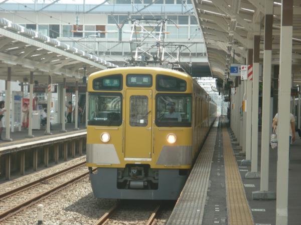 2014-08-18 西武2465F+2091F 準急飯能行き 4121レ