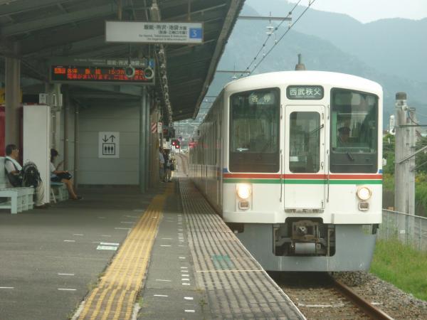 2014-08-18 西武4009F 各停西武秩父行き 5039レ