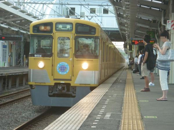 2014-08-18 西武9104F 急行池袋行き1 2166レ