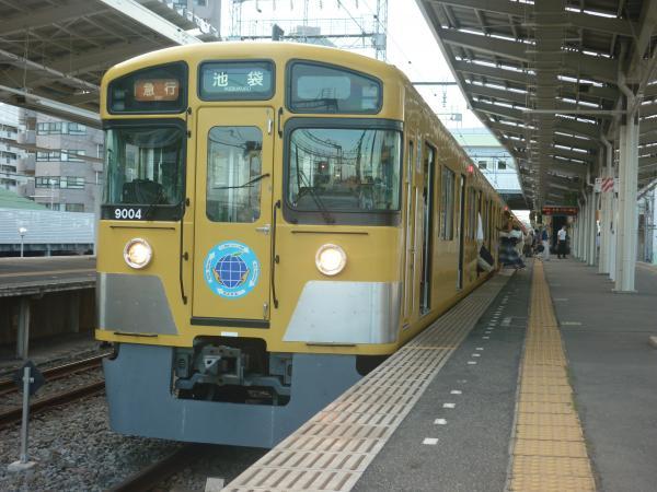 2014-08-18 西武9104F 急行池袋行き2 2166レ