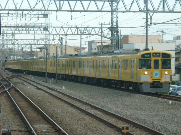 2014-08-18 西武9105F 準急飯能行き 4147レ