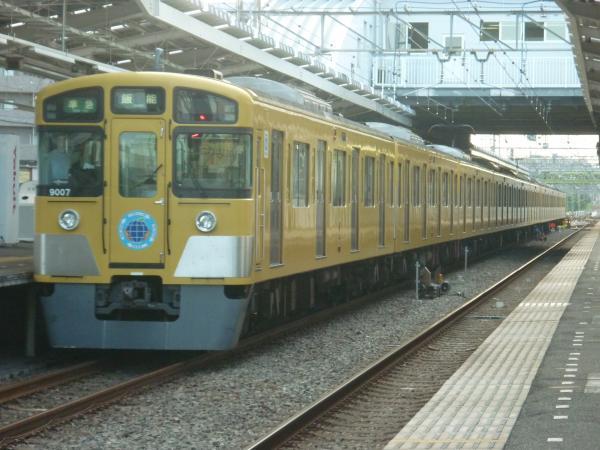 2014-08-18 西武9107F 準急飯能行き2 4149レ