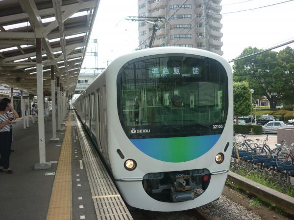 2014-08-18 西武32105F+38103F 準急飯能行き1 4119レ