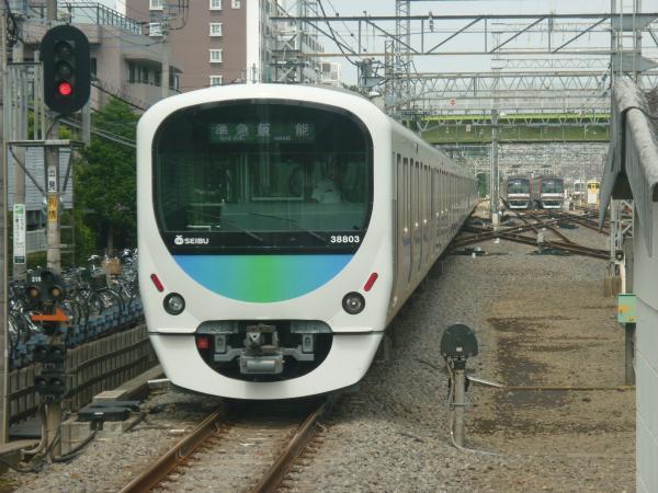 2014-08-18 西武32105F+38103F 準急飯能行き2 4119レ