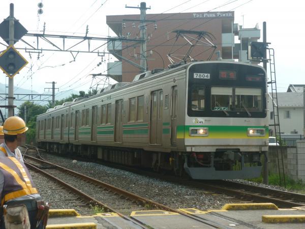 2014-08-18 秩鉄7804F 各停羽生行き